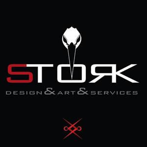 Stork Design Art