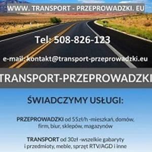 Uslugi transportowe- przeprowadzki