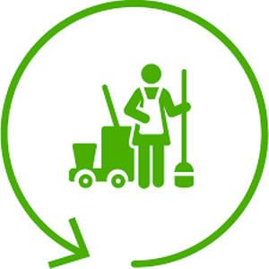 sprzątanie wnętrz i terenów otwartych