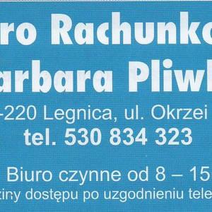 BIURO RACHUNKOWE BARBARA PLIWKA