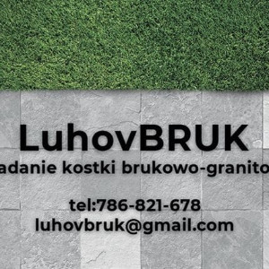 Luhov Bruk - układanie Kostki Oleh Luhoviak
