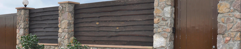 Ogrodzenie z kamienia Gliwice