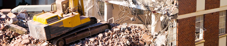 Rozbiórka i wyburzenie budynku Aleksandrów Łódzki